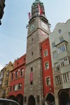 Innsbruck city tower