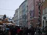 Rosenheim Max Josefs place with Christmas market