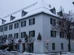 Rosenheim Salinstrasse in winter season