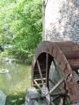Schermbeck upper mill water wheel